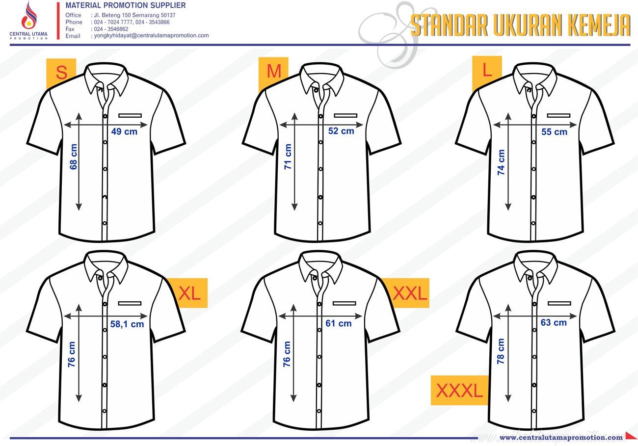 Kaos Oblong T Shirt Central Utama Promotion Material Katalig Lelaki Standard Ukuran Anak Katalog Warna Bahan Cotton 1 2 Lacoste Pique
