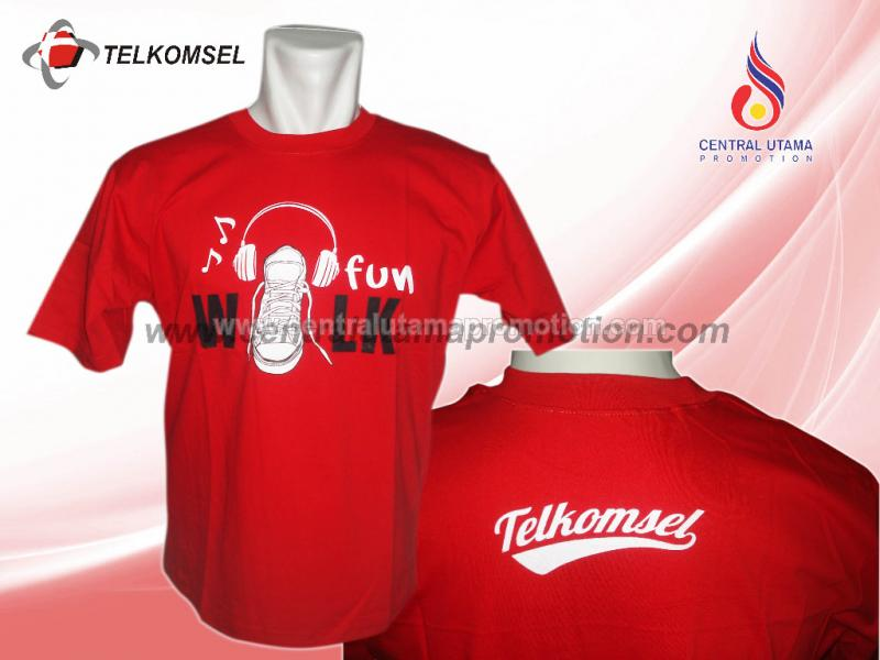 KAOS OBLONG TELKOMSEL