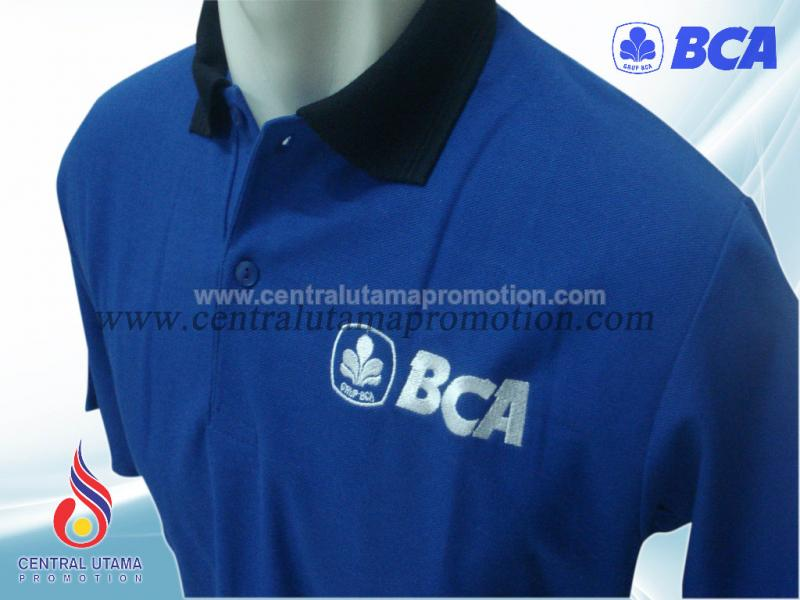 POLO SHIRT BANK BCA